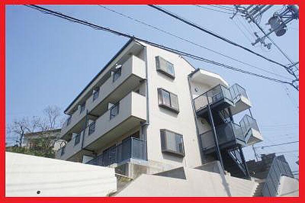 兵庫県神戸市兵庫区会下山町1丁目の賃貸マンションの外観