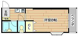 ミヤノハイツ[2階]の間取り