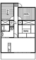 サーパス宮崎駅東[804号室]の間取り