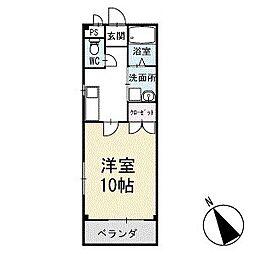 ドエル・ミタライ 1階[103号室]の間取り