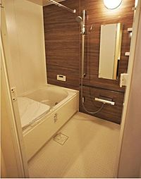 浴室乾燥機・追い炊き機能付きの浴室で快適な浴室です