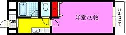 アメニティK・S パート3[3階]の間取り