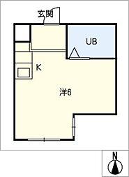 クリエイティブハウス[3階]の間取り