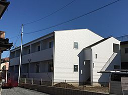 埼玉県本庄市日の出4丁目の賃貸アパートの外観