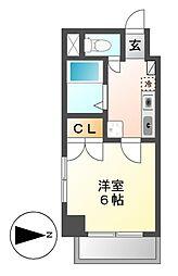 casa桜・千種[4階]の間取り