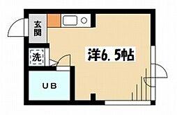 東京都杉並区荻窪4の賃貸マンションの間取り