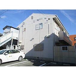 静岡県浜松市中区鹿谷町の賃貸アパートの外観