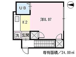 御幸橋駅 2.5万円