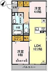 apartment Will[3階]の間取り