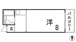 IN神戸[902号室]の間取り