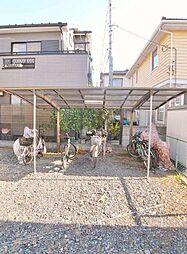 竹園荘[2階]の外観