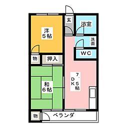 丸栄産業ビル[4階]の間取り