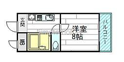江坂垂水福山ハイツ[1階]の間取り