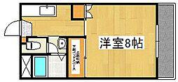 リッチマンション[1階]の間取り