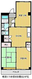 ハイネス加藤[2階]の間取り