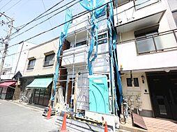 愛知県名古屋市中村区若宮町4丁目の賃貸アパートの外観