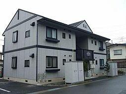 長野県長野市安茂里小市4丁目の賃貸アパートの外観