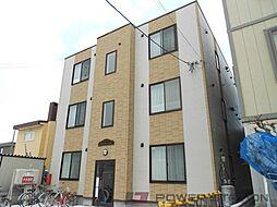 北海道江別市野幌若葉町の賃貸マンションの外観