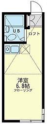 ユナイト ステージ小田栄ファースト[1階]の間取り