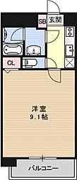 アルモニー花屋町[103号室号室]の間取り