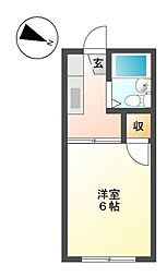 堀田ビル[2階]の間取り