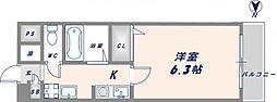 エムズコンフォート[2階]の間取り