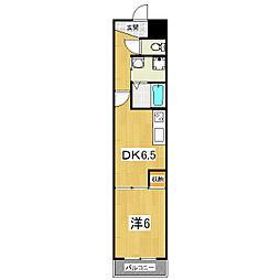 アストラルルームII[2階]の間取り