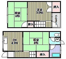 [一戸建] 大阪府河内長野市末広町 の賃貸【/】の間取り