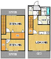 Lino House[1階]の間取り