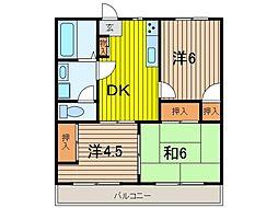 プライホーム浦和[1階]の間取り
