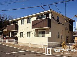 愛知県豊田市御船町待井の賃貸アパートの外観
