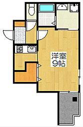 Casa de issa[303号室]の間取り