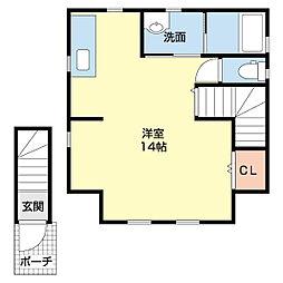 新潟県新潟市中央区白山浦1丁目の賃貸アパートの間取り