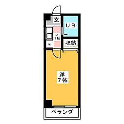SATOSHIハイツ[1階]の間取り