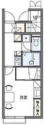 MUTSUMI[2階]の間取り