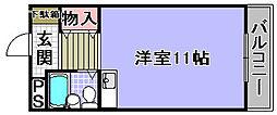 ネオコスモ'88[208号室]の間取り