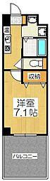 sama-sama 1階1Kの間取り