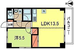 東京都杉並区成田西1丁目の賃貸マンションの間取り