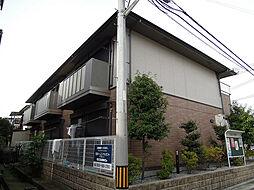 大阪府八尾市松山町1丁目の賃貸アパートの外観