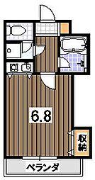 聖護院谷口マンション[305号室]の間取り