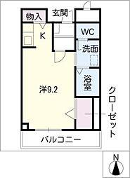 ハイムK・C[2階]の間取り