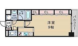 サムティナンバ南[12階]の間取り