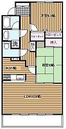 ドルフ南本宿I[3階]の間取り