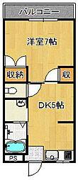 サントピア[2階]の間取り