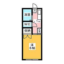 リブティハウス[2階]の間取り