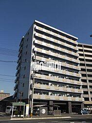 岡山県岡山市北区野田5の賃貸マンションの外観
