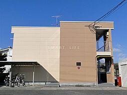 滋賀県大津市衣川1丁目の賃貸アパートの外観
