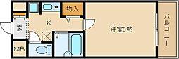 M・SUNRISE(エム・サンライズ)[4階]の間取り