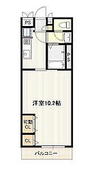 広島電鉄1系統 宇品5丁目駅 徒歩2分の賃貸アパート 1階1Kの間取り