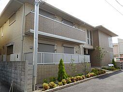 兵庫県尼崎市富松町2丁目の賃貸アパートの外観